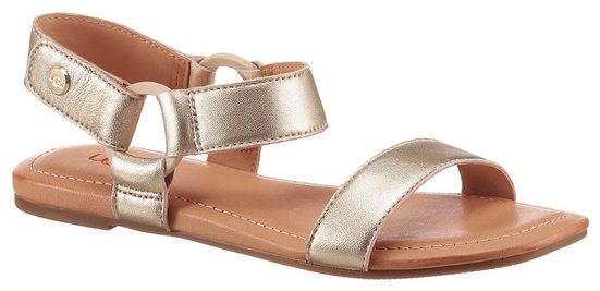 UGG »Rynell« Sandale im Metallic Look