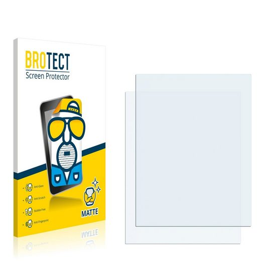 BROTECT Schutzfolie »für Medion MD 96700«, (2 Stück), Folie Schutzfolie matt entspiegelt