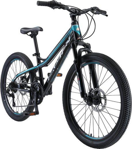 Bikestar Mountainbike, 21 Gang Shimano RD-TY300 Schaltwerk, Kettenschaltung