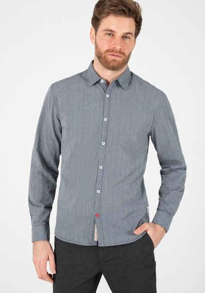 TIMEZONE Karohemd »Striped Jaquard Shirt«