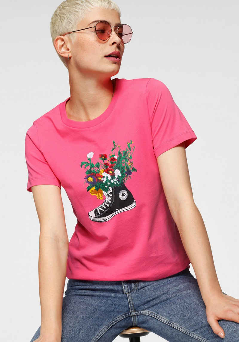 Converse T-Shirt »IN BLOOM GRAPHIC TEE«