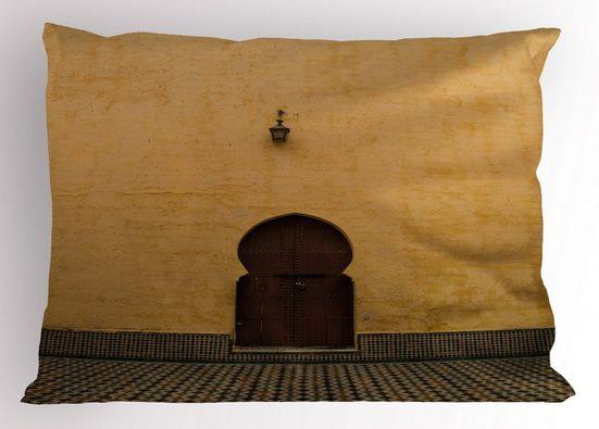 Abakuhaus Kissenbezug »Dekorativer Standard King Size Gedruckter Kissenbezug,«, Die Architektur Oriental Design Tür