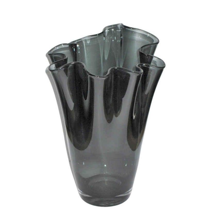 Signature Home Collection Tischvase (1 Stück, 1 Stück, 1x Glasvase), Handgefertigt in Europa, mundgeblasene Glasvase in Premiumqualität