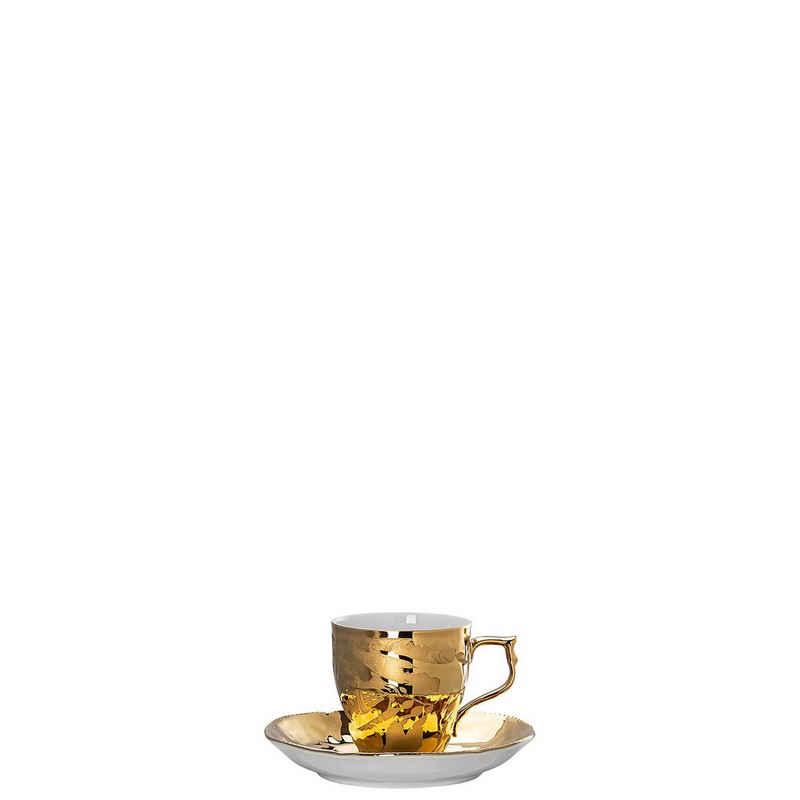 Rosenthal Espressotasse »Rosenthal Midas Espresso/Mokkatasse 2tlg«, Porzellan