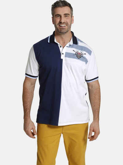 Charles Colby Poloshirt »EARL GETOAR« maritimes Baumwollshirt