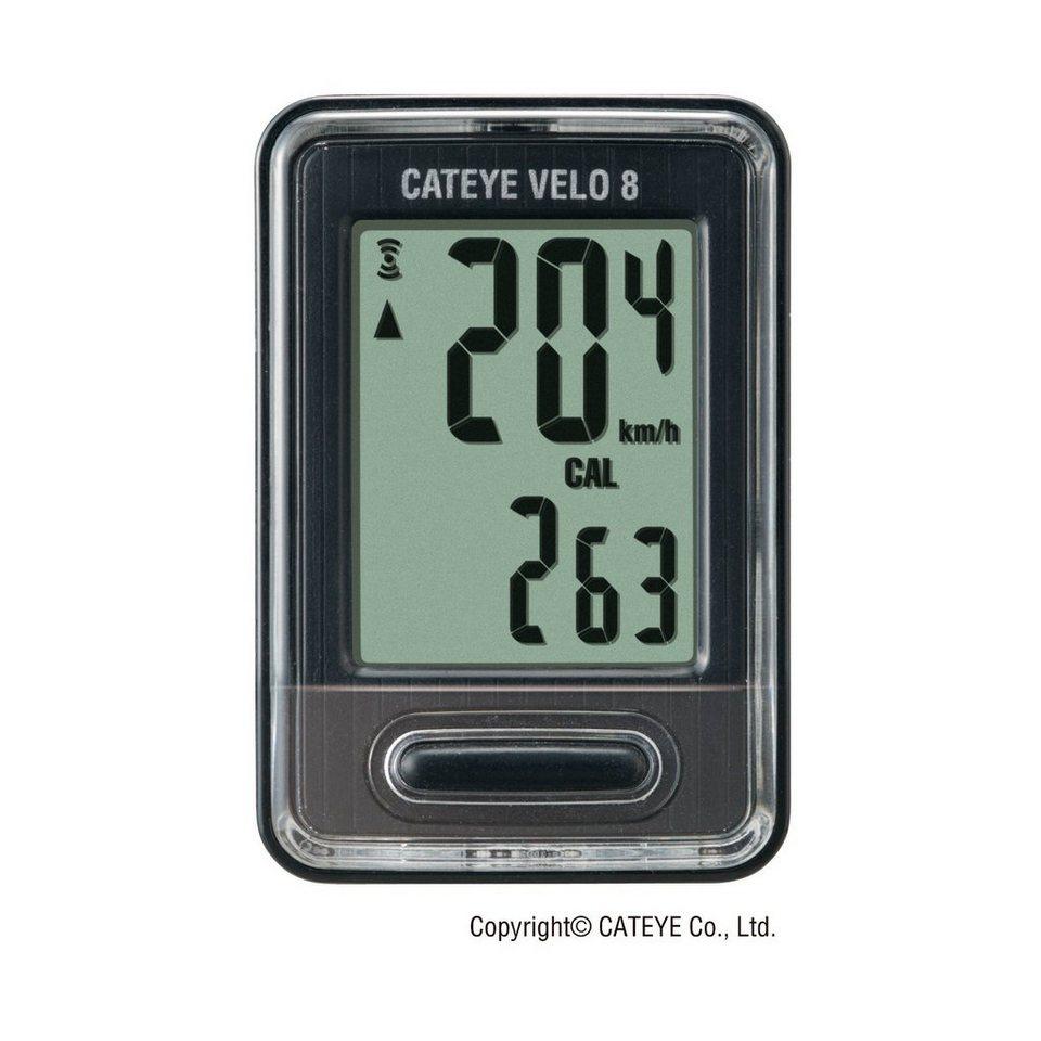 Cateye Fahrradcomputer »Velo 9 CC-VL820 Fahrradcomputer schwarz«