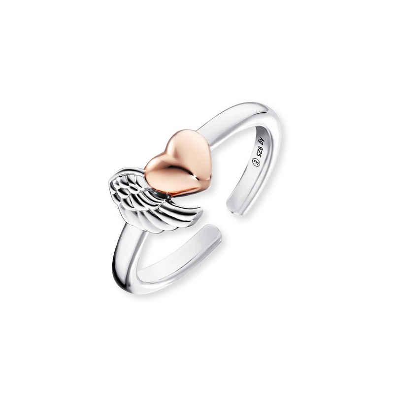 Engelsrufer Fingerring »Engelsrufer Damen Ring ERR-WINGHEART-BICOR Sterlin«