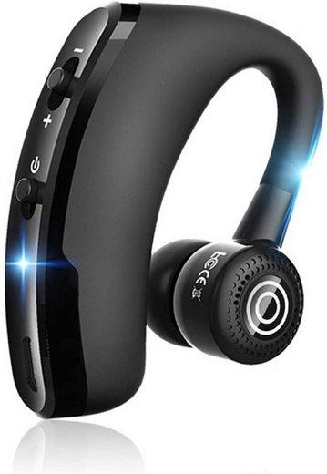 cofi1453 »Bluetooth Stereo Headset Wireless On-Ear mit Mikrofon Stereo Auto Headset kompatibel mit Smartphones schwarz« Smartphone-Headset