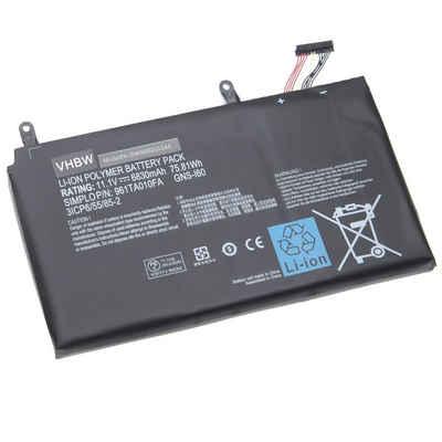 vhbw Laptop-Akku passend für Gigabyte P37X v6, P57W, P57W v5, P57W v6, P57W v7, P57X, P57X v6, P57X v7 (6830mAh, 11,1V, Li-Ion) 6830 mAh