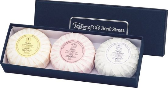 Taylor of Old Bond Street Seifen-Set »Handseifen Geschenkset, 3 x 100 g«, 3-tlg.