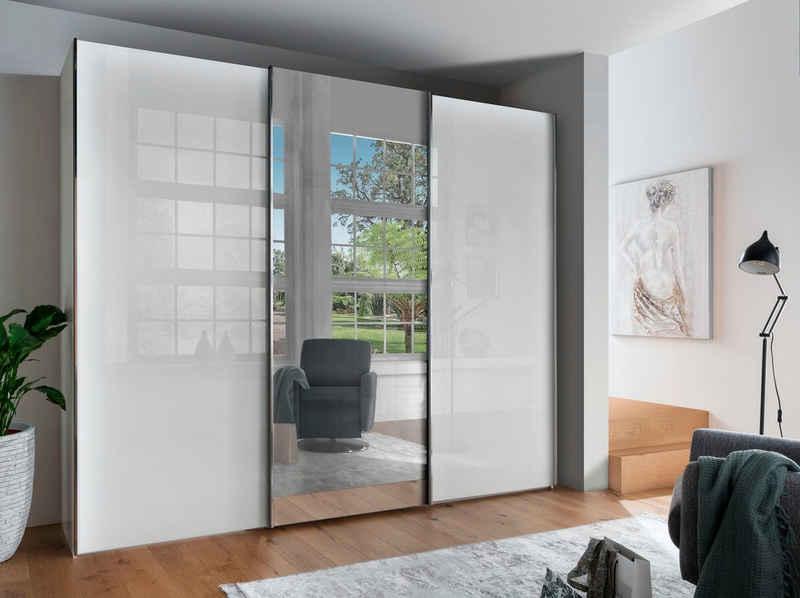 WIEMANN Schwebetürenschrank »Monaco« hochwertige Glas- und Spiegelfront