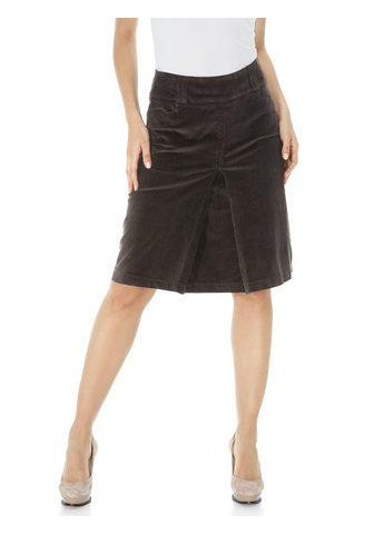 HEINE CASUAL юбка вельветовая с Kellerfalte