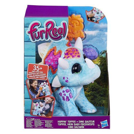 Hasbro Kuscheltier »Hasbro E7963EU4 - FurReal - Spielfigur, Mein Baby-Triceratops, Topper«