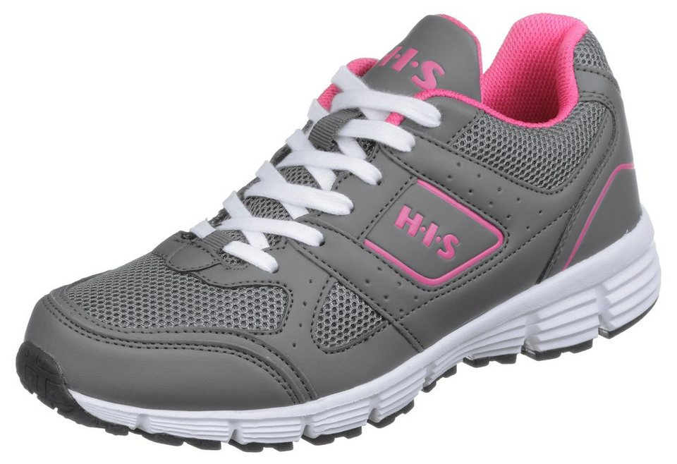 H.I.S »HIS Fit 2« Trainingsschuh in anthrazit-pink