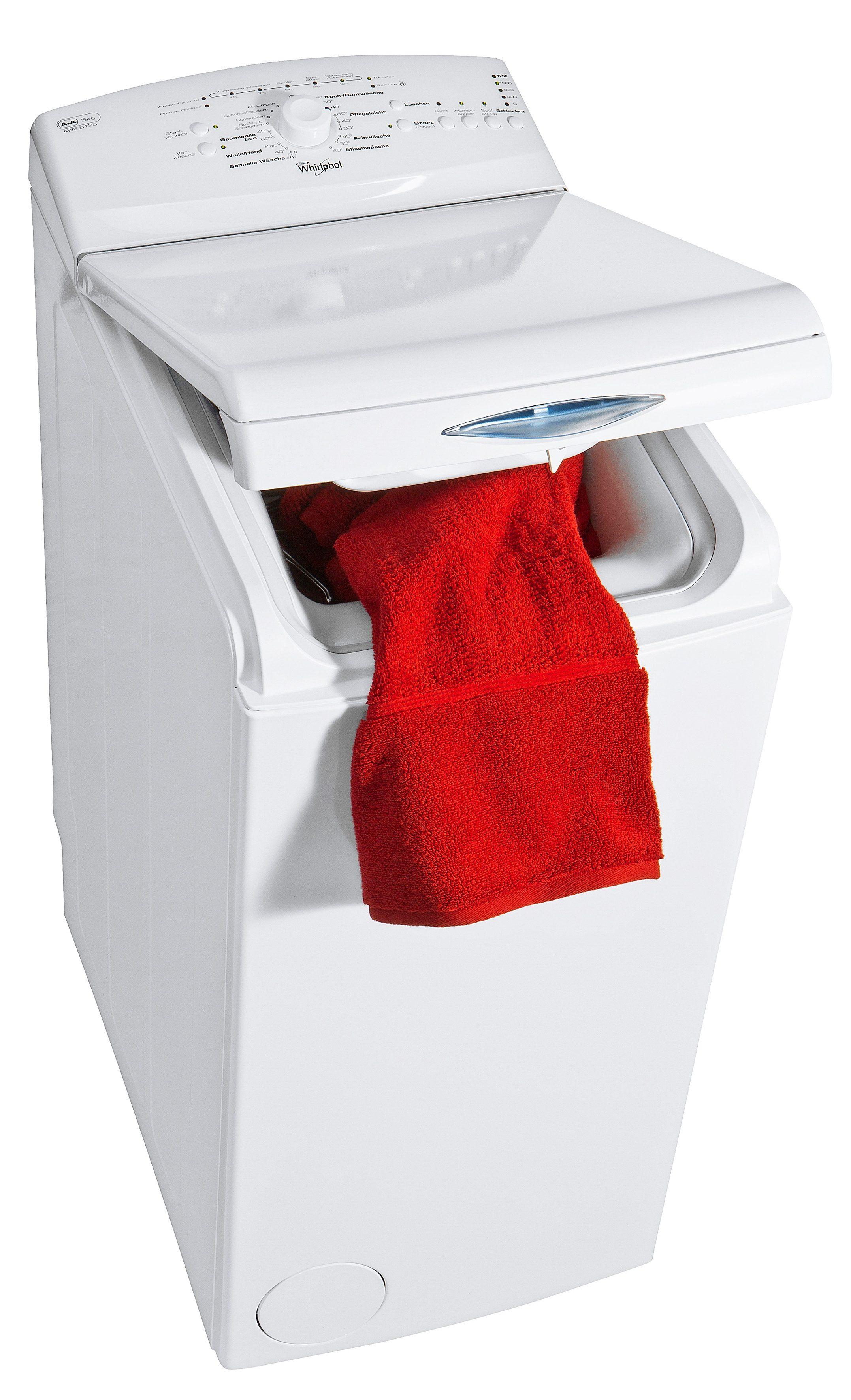 Whirlpool Waschmaschine Toplader AWE 5125, A+, 5 kg, 1200 U/Min
