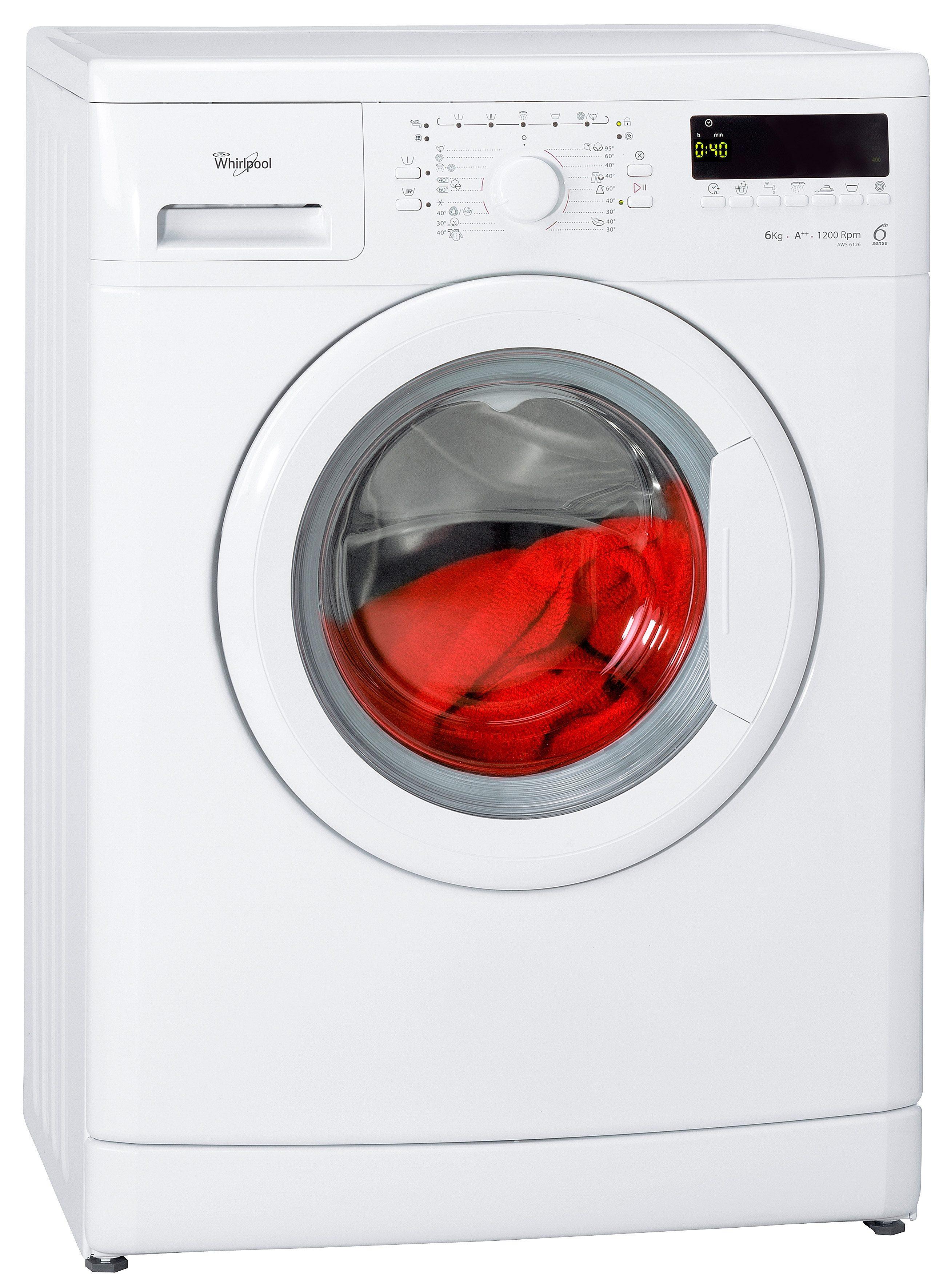 Whirlpool Waschmaschine AWS 6126, 6 kg, 1200 U/Min