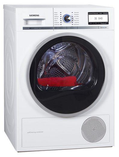 SIEMENS Wärmepumpentrockner iQ800 WT47Y701, 8 kg