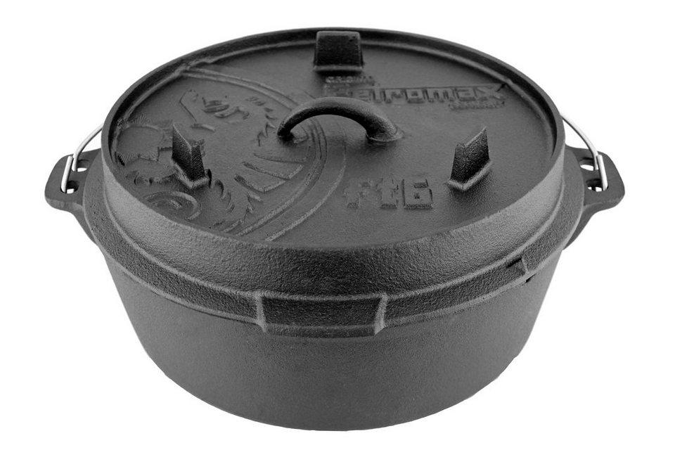 Petromax Camping-Geschirr »Feuertopf ft 6« in schwarz