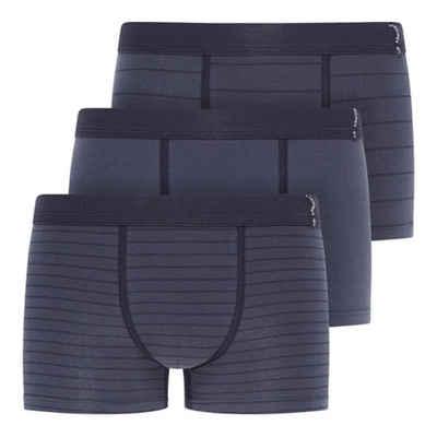 Jockey Retro Pants »3er Pack Active Cotton Short Pant Trunk« (3 Stück) Niedrige Bundhöhe und mittlere Abdeckung, Gute Passform und eng anliegend, Ohne Eingriff