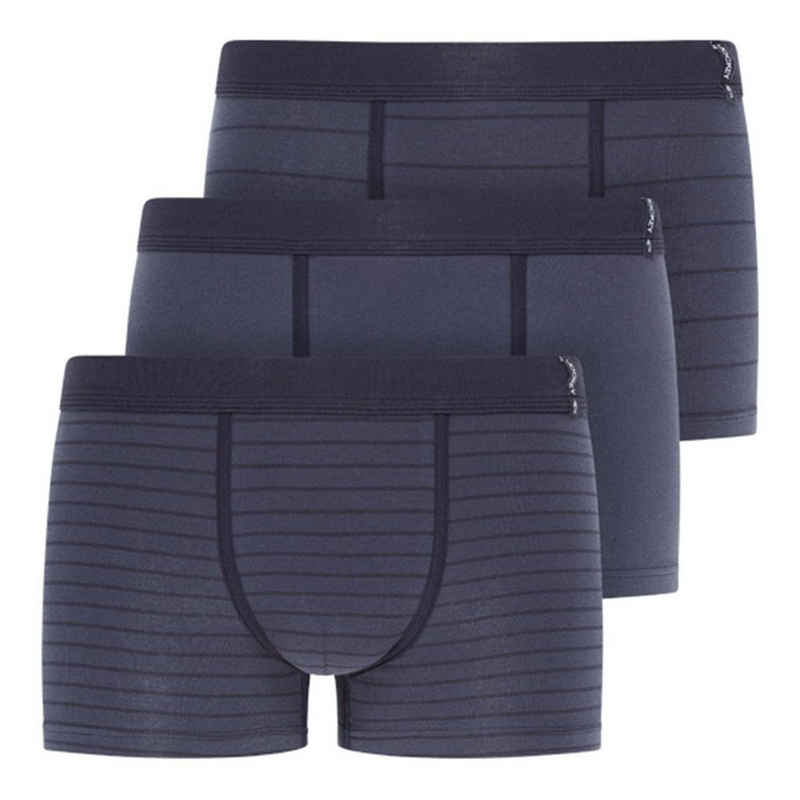 Jockey Retro Pants »3er Pack Active Cotton« (3 Stück) Short Pant Trunk - Niedrige Bundhöhe und mittlere Abdeckung, Gute Passform und eng anliegend, Ohne Eingriff