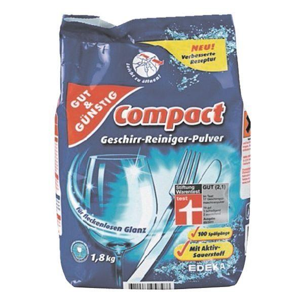 Gut und Günstig Spülmaschinenreiniger »Compact«