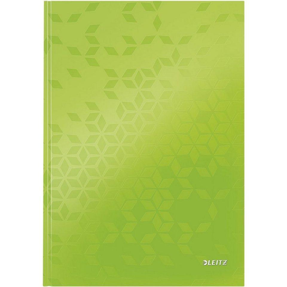 Leitz Notizbuch »WOW« in metallic-grün