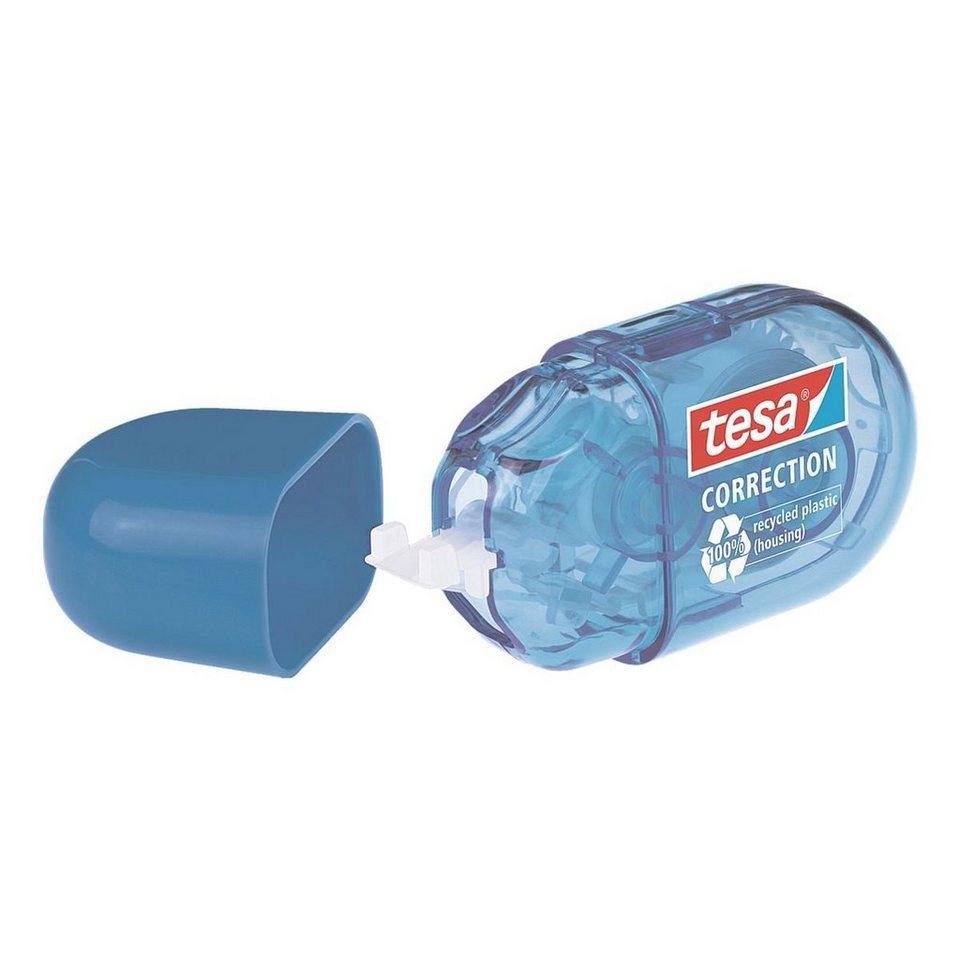 tesa Einweg-Korrekturroller »Mini« in blau
