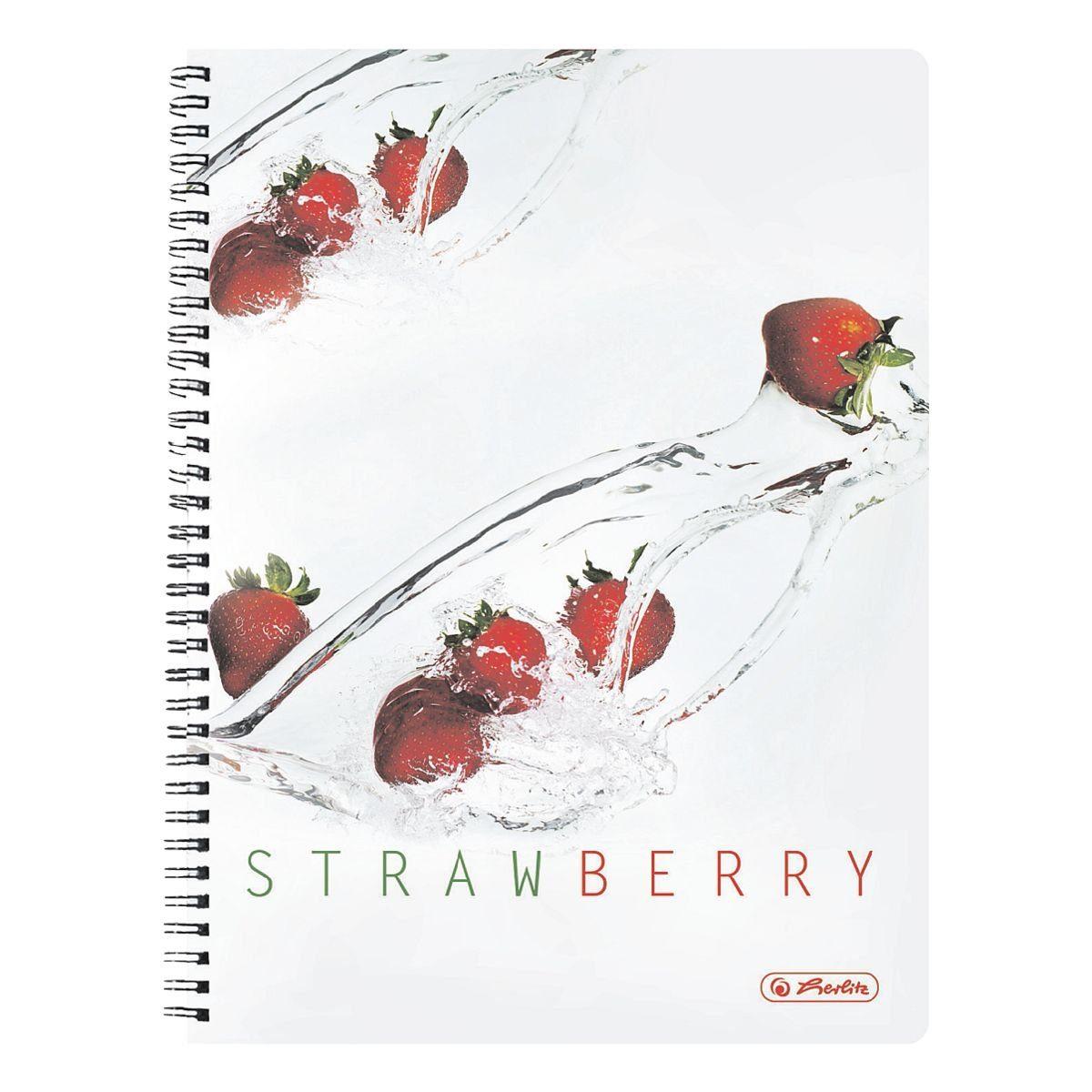 Herlitz Collegeblock »Erdbeere«