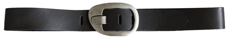 CROSS Jeans ® Gürtel in Grey