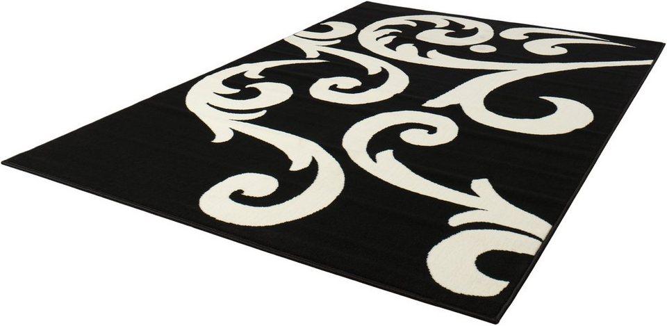 Teppich »Tantan«, Hanse Home, rechteckig, Höhe 9 mm in schwarz-natur