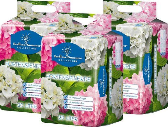 ENDLESS SUMMER Hortensienerde , rosa/weiß, 3x20 Liter