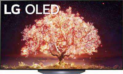 LG OLED65B19LA OLED-Fernseher (164 cm/65 Zoll, 4K Ultra HD, Smart-TV, (bis zu 120Hz), α7 Gen4 4K AI-Prozessor, Twin Triple Tuner, Sprachassistenten, HDMI 2.1)