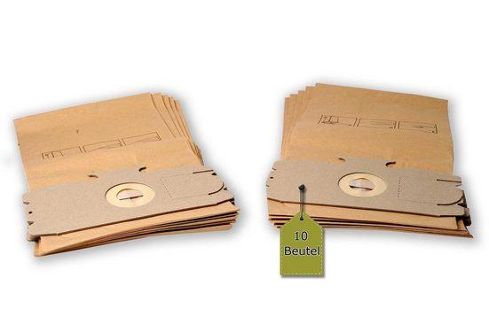 eVendix Staubsaugerbeutel Staubsaugerbeutel passend für AEG Comfort Electr onic - Vampyr, 10 Staubbeutel + 2 Mikro-Filter ähnlich wie Original AEG Staubsaugerbeutel Größe 12, 15, passend für AEG