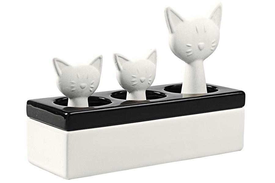 heine home Luftbefeuchter Katzenfamilie