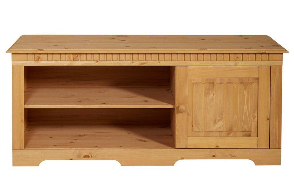 lowboard home affaire breite 130 cm belastbarkeit bis 75 kg online kaufen otto. Black Bedroom Furniture Sets. Home Design Ideas