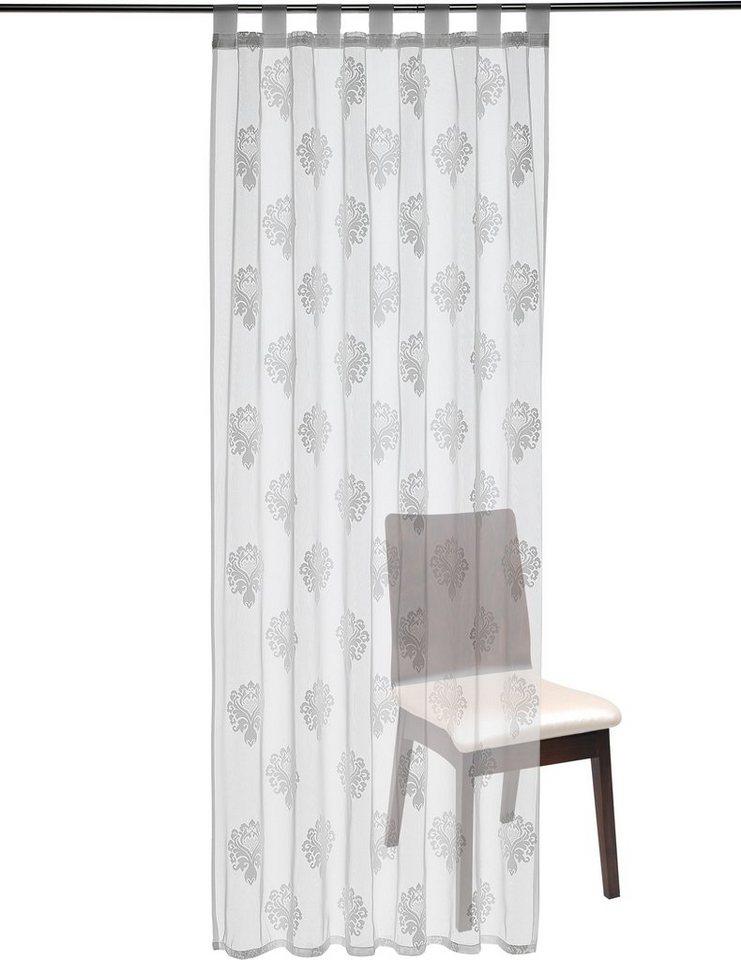 Gardine, my home, »Bacoli« (1 Stück) in weiß