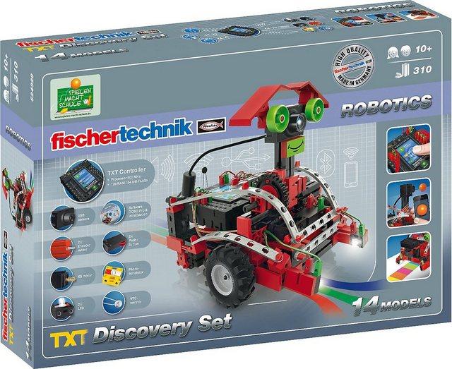 Image of Fischertechnik Robotics Discovery Set-TXT 310 pcs