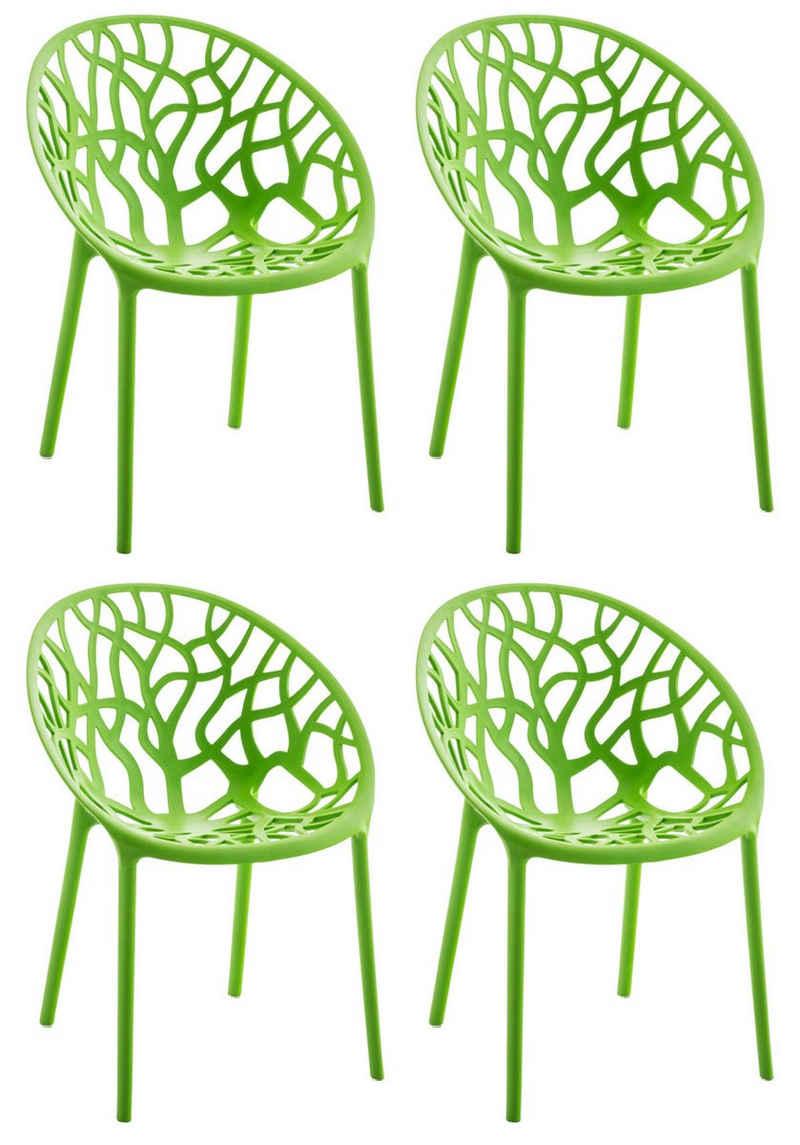 CLP Gartenstuhl »Hope« (4er Set), stapelbar und mit modernem Design