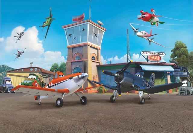 Komar Fototapete, Planes Terminal, 368/254 cm