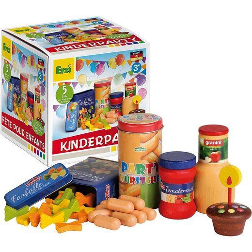 Erzi® Spiellebensmittel »Exklusiv Kinderparty Spiellebensmittel«