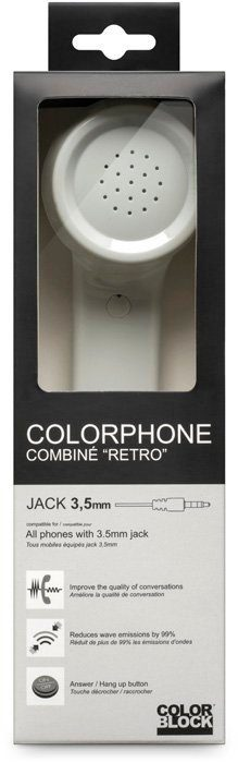 BIGBEN Kopfhörer Color Phone Cosmic Grey universal »Tablet/Smartphone«