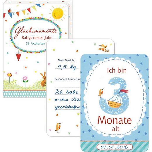 Coppenrath Lernspielzeug »Glücksmomente: Babys erstes Jahr, Fotokarten-Box«