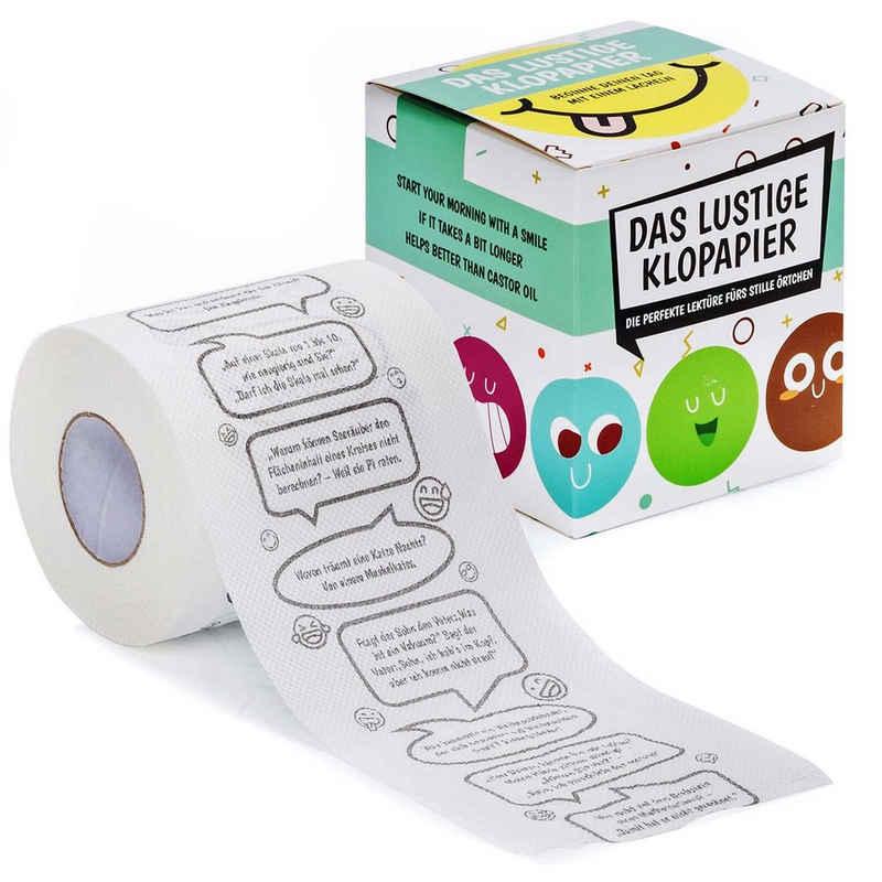 Goods+Gadgets Papierdekoration »Witze Klopapier«, Fun WC Toilettenpapier