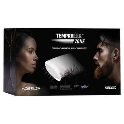 3-Kammer-Kopfkissen, »V Zone«, TEMPRAKON