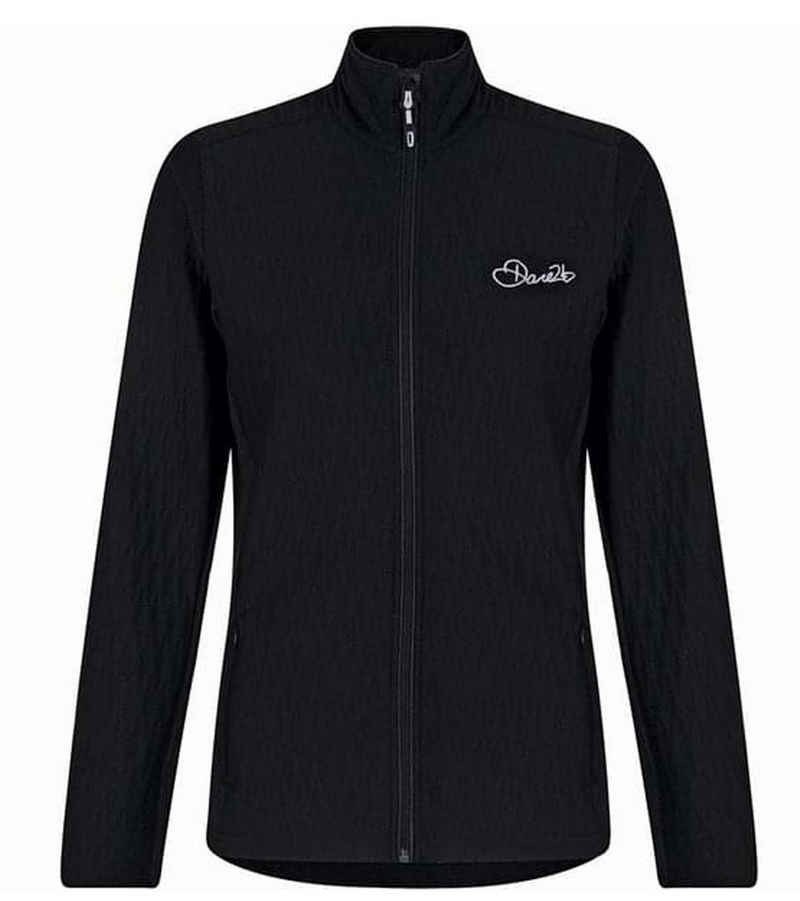 Dare2b Outdoorjacke »DARE 2b Elitic Core Sweat-Jacke stretchige Damen Freizeit-Jacke mit Stehkragen Outdoor-Jacke Schwarz«