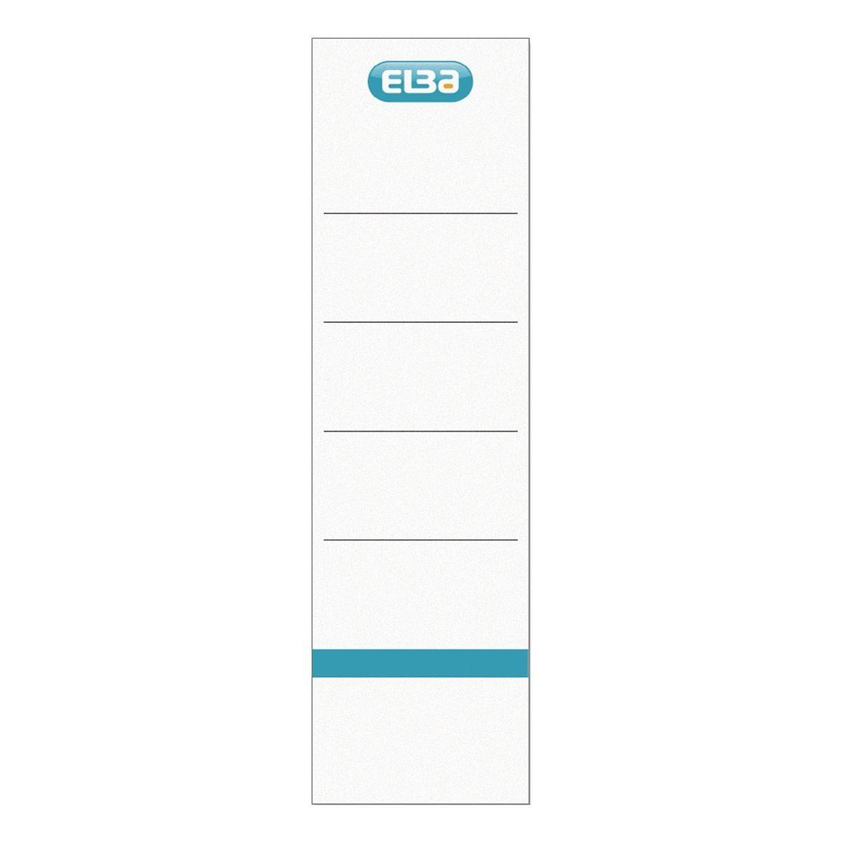 ELBA Ordnerrücken-Etiketten 400039636 zum Einstecken »Smart Pro«