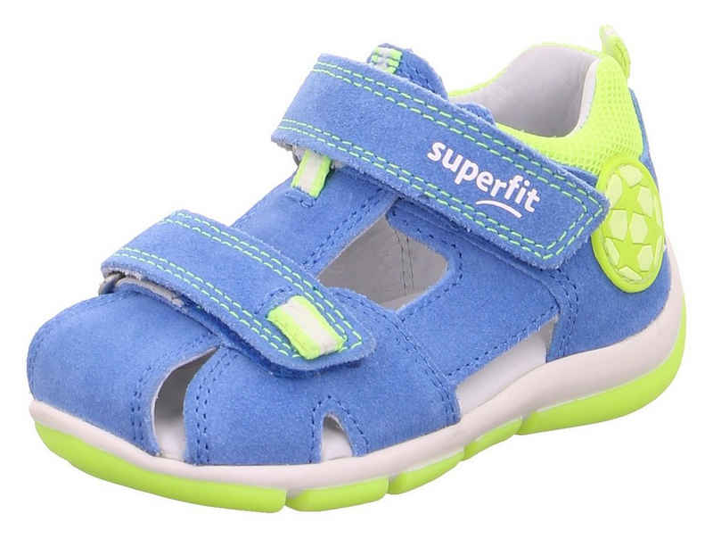 Superfit »Freddy WMS Weiten-Messsystem: mittel« Sandale mit geschlossenen Fußbereich