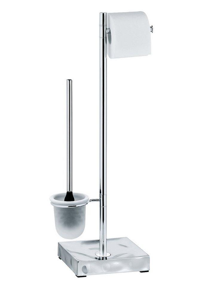 WC-Garnitur »Verbera« in silber glänzend