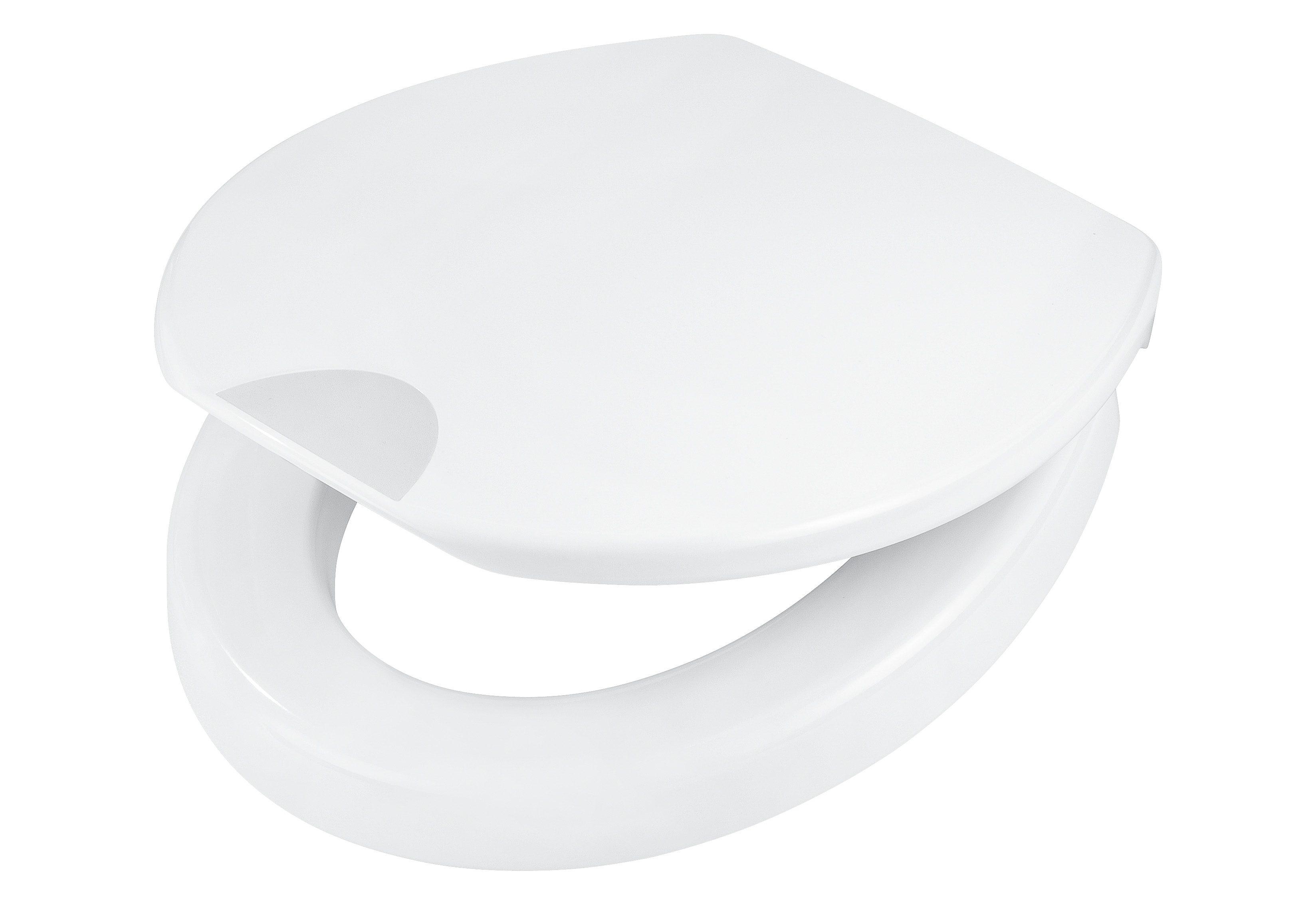 WC-Sitz »Mantova«, Mit 5 cm Sitzerhöhung und Absenkautomatik