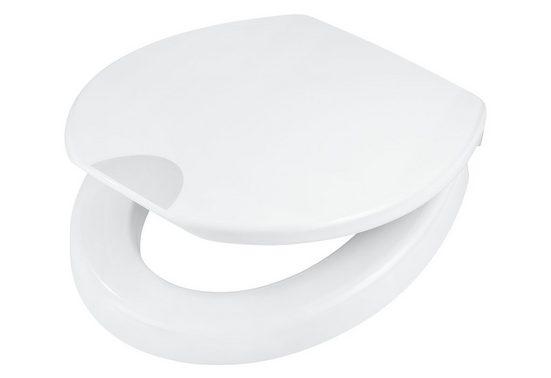 Adob WC-Sitz »Mantova«, Mit 5 cm Sitzerhöhung und Absenkautomatik